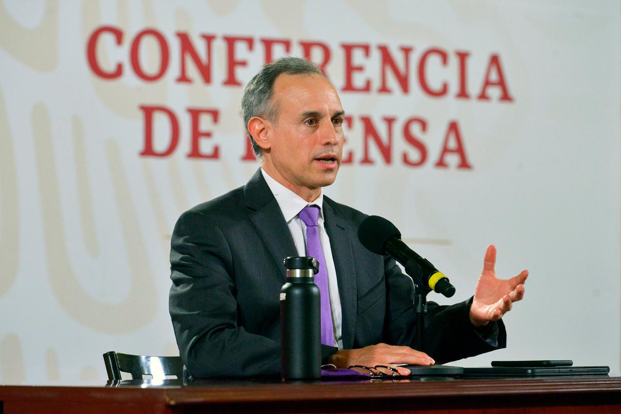 Hugo Lopez Gatell subsecretario de Salud,