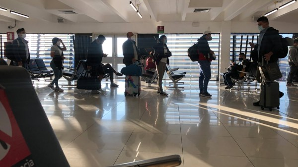Turismo mexico Coronavirus Covid pandemia aeropuerto