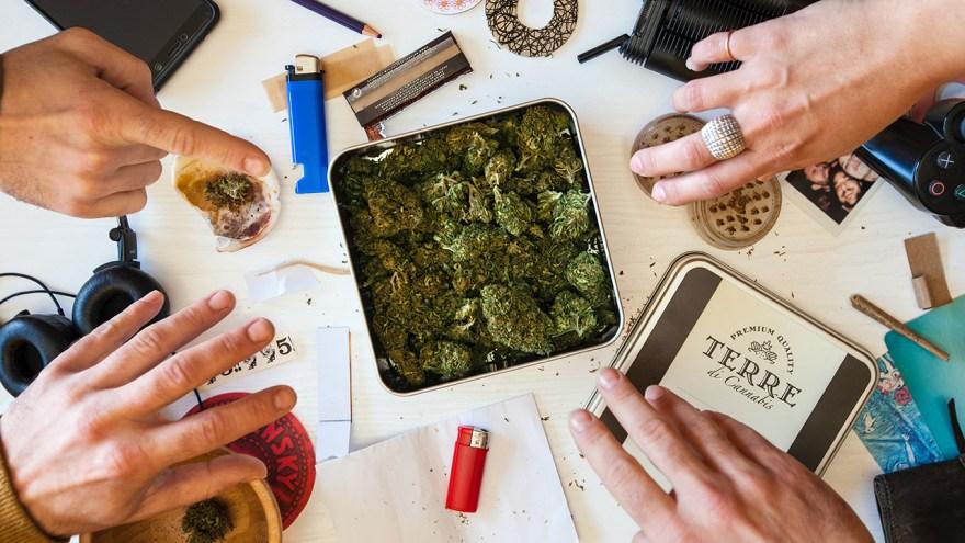 coffee shops, cannabis