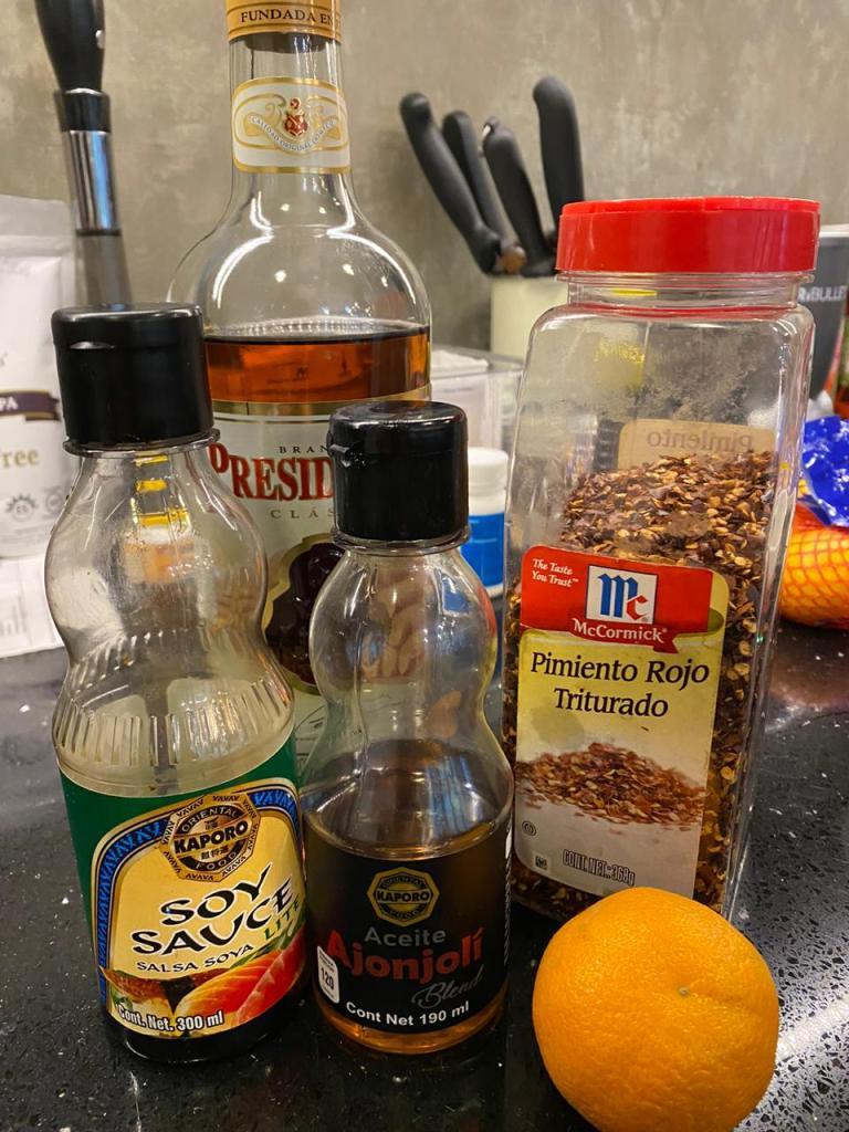 especias y mandarinas