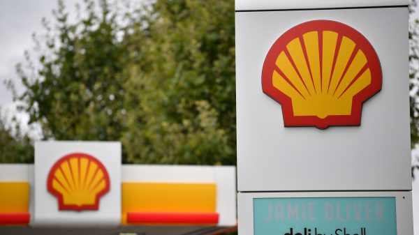 gasolinera de Shell en Europa