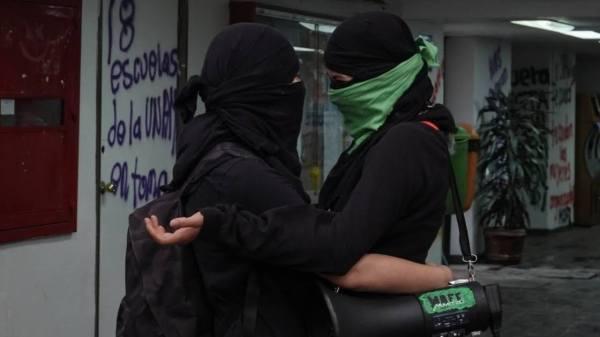 mujeres protesta feminista