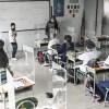alumnos en una escuela de Colombia