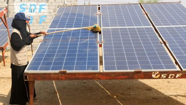 energía solar-Yemen