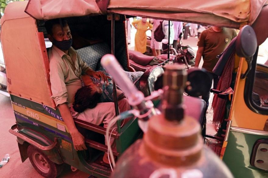 Crisis Coronavirus en India Covid-19 oxigeno