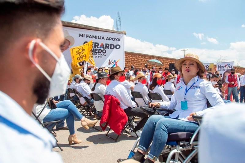 elecciones 2021 Claudia Anaya mota