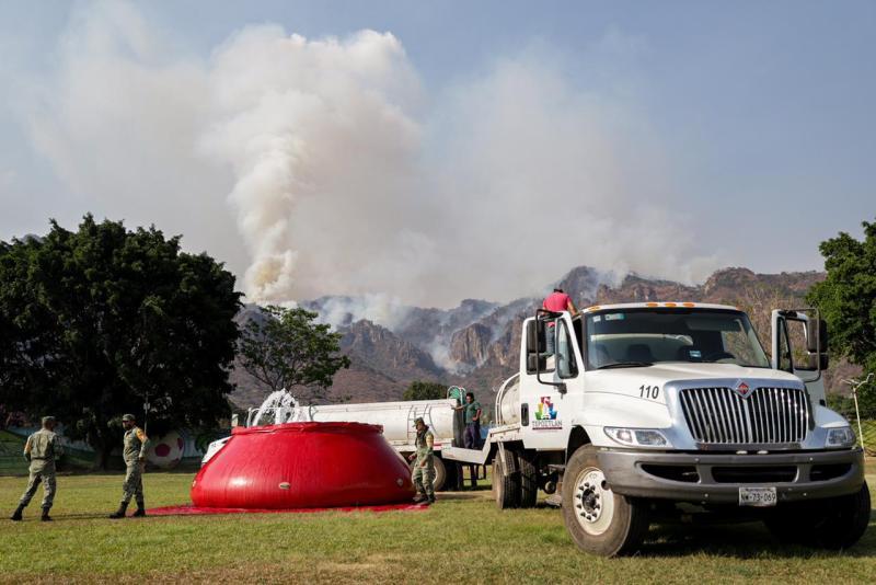 incendio forestal incendios forestales morelos