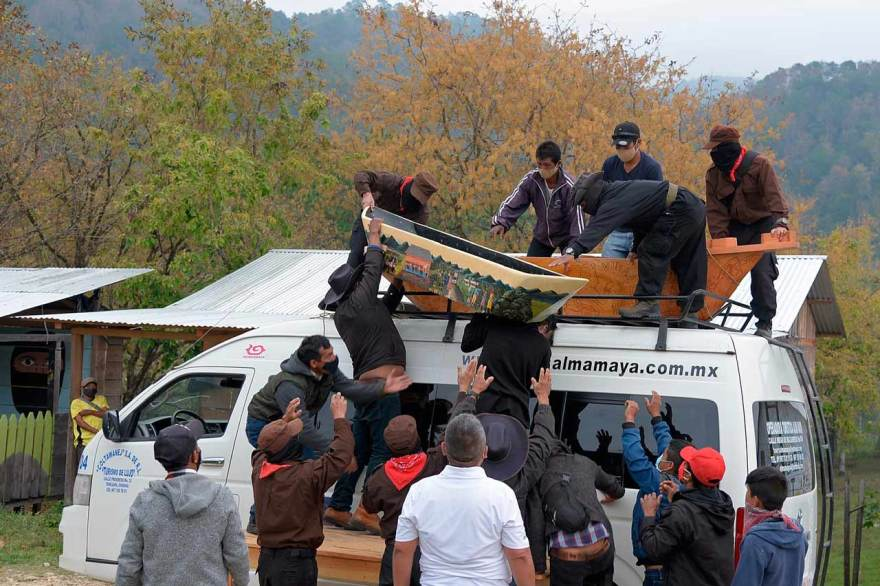 ZAPATISTAS EZLN MEXICO EUROPA EZLN