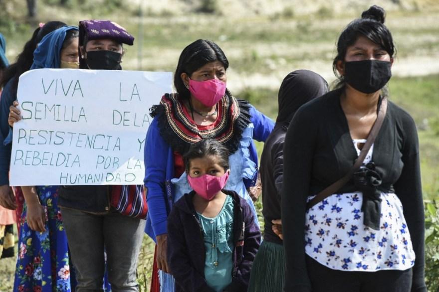 ZAPATISTAS EZLN MEXICO EUROPA