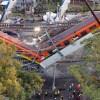 Foto del desplome del metro linea 12, del que The new york times hizo un reportaje