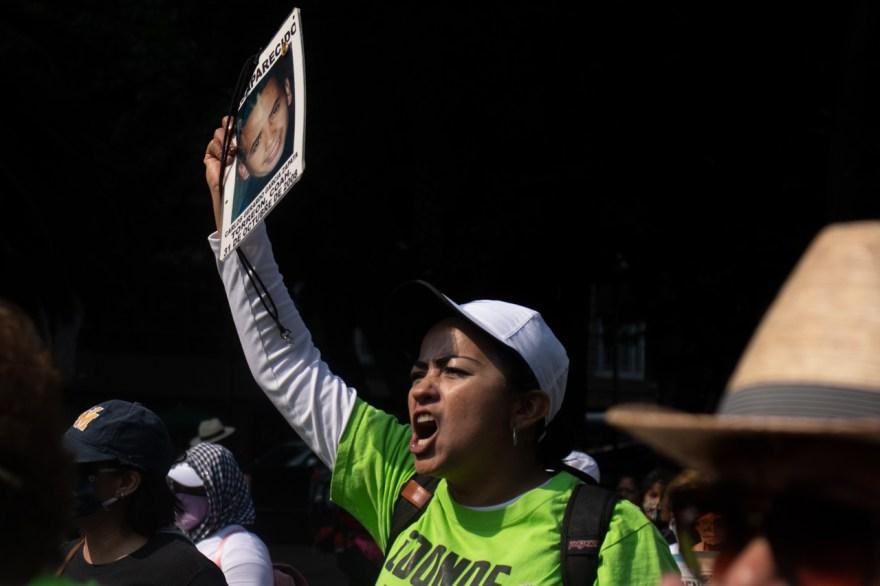 marcha madres de personas desaparecidas