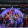 Foto de Cruz Azul celebrando su campeonatou