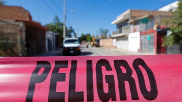 Foto del acordonamiento de la fosa de Tonalá Jalisco