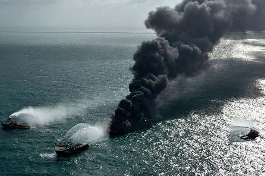 sri lanka accidente buque