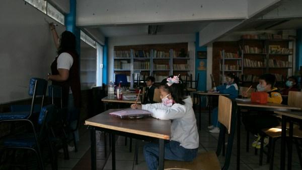 escuelas clases covid cdmx regreso