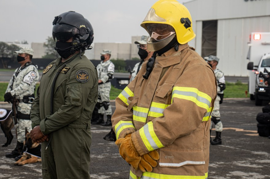 guardia nacional unase equipo rescate zonas de destraste