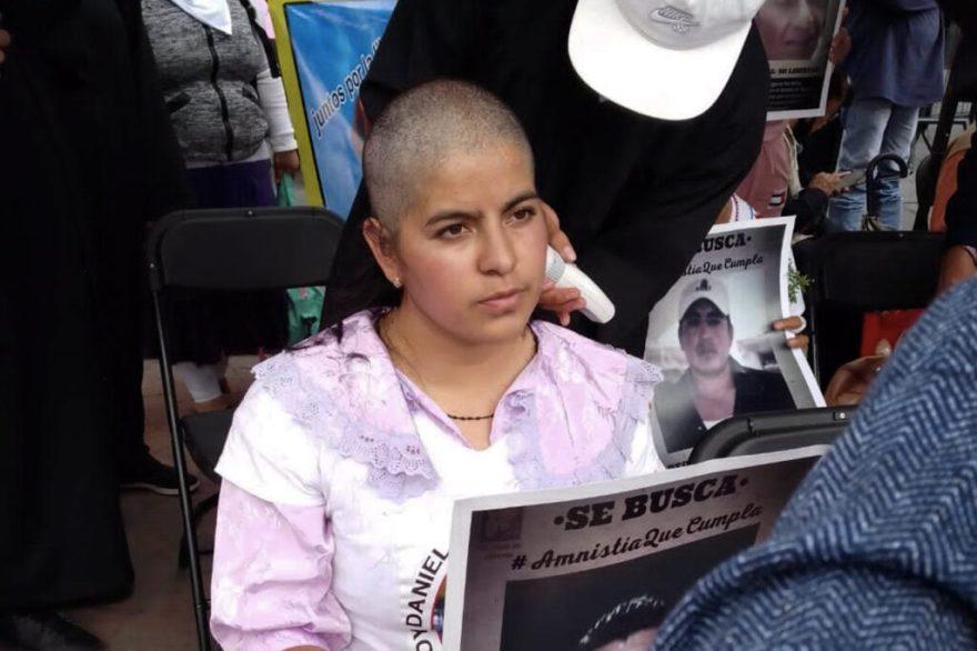 protesta mujeres se rapan ley amnistía edomex