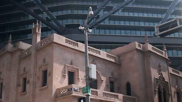 Foto de una alarma sísmica para ilustrar la nota de donde reportar