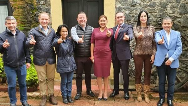 Foto alianza alcaldes cdmx