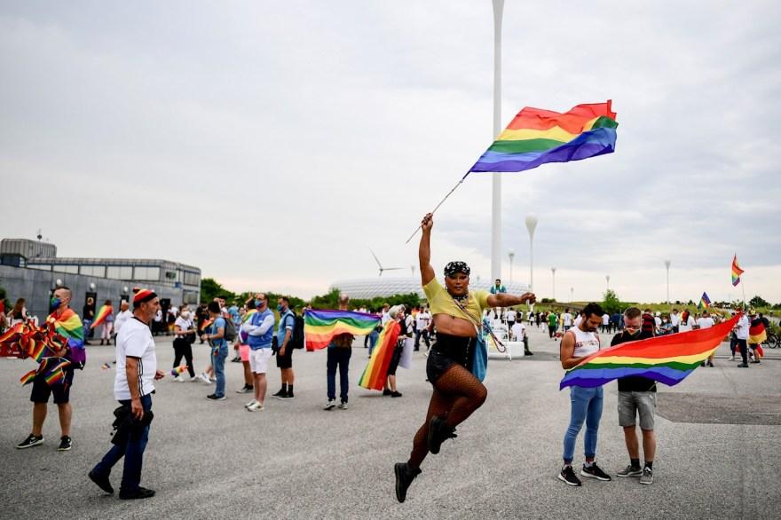 Allianz Arena protesta LGBT