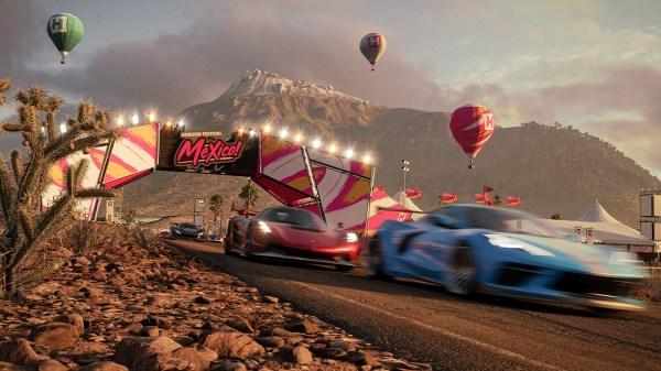 Foto de crrera del juego Forza Horizon 5