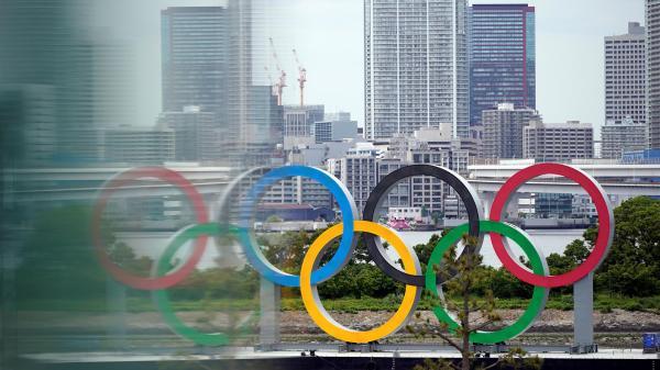 Foto del logotipo de los Juegos Olímpicos