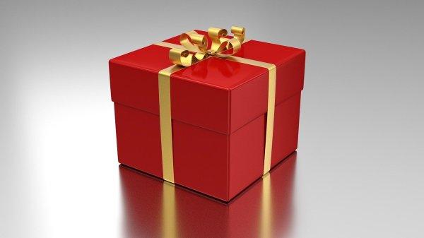 Foto de una caja de regalo por le día del padre