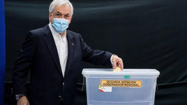 Foto del presidente sebastian piñera