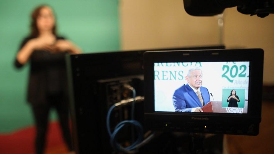 traductora señas López Obrador