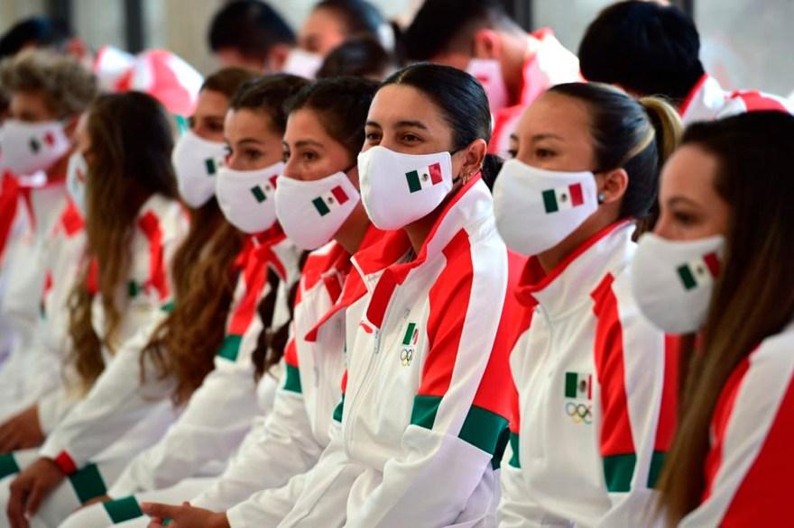 abanderamiento delegación mexicana tokio 2020