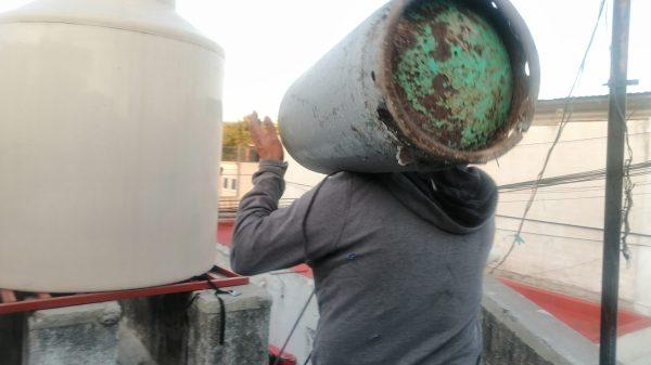 Repartidor de Gas