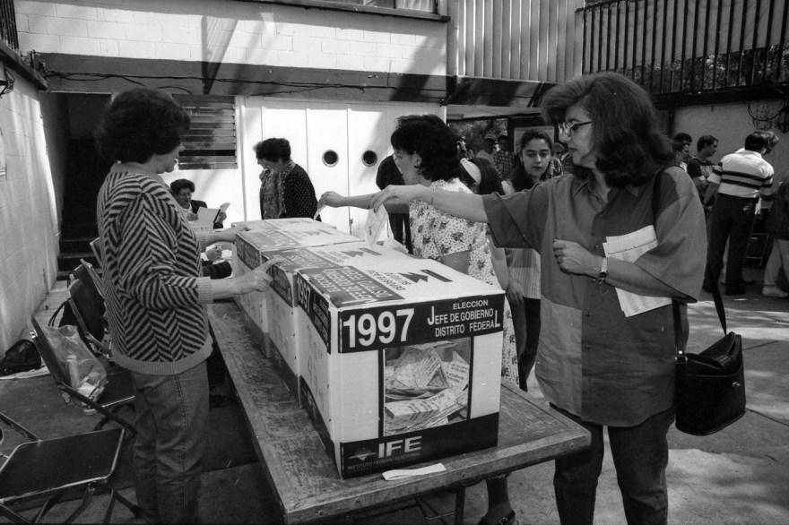 voto mujer méxico aniversario 1955