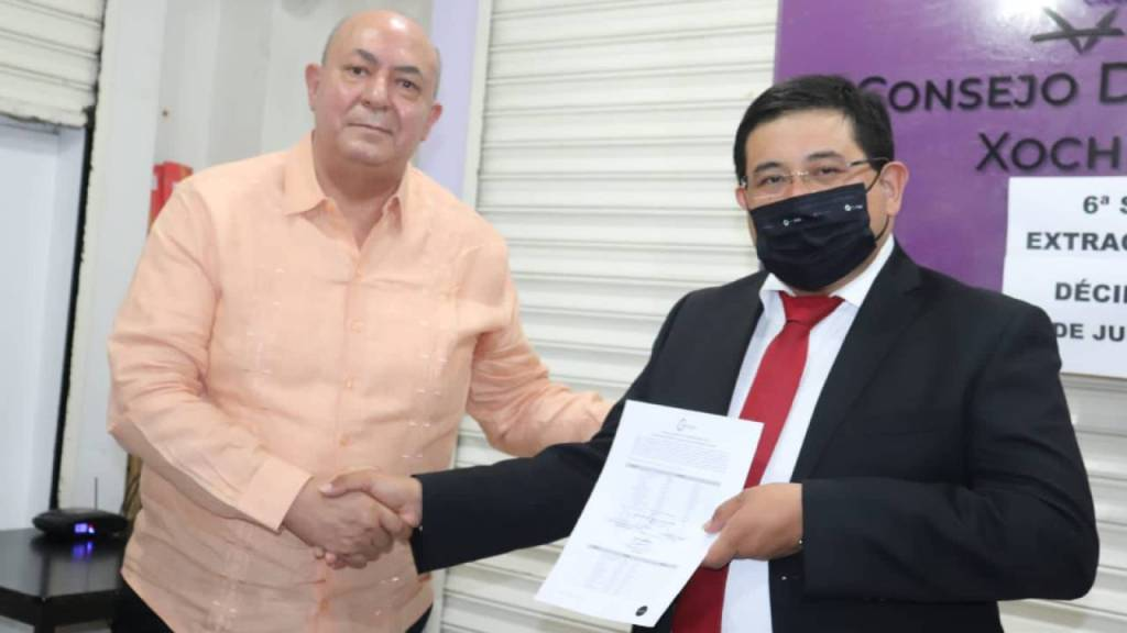 IECM declara el triunfo de Carlos Acosta Ruíz como alcalde de Xochimilco