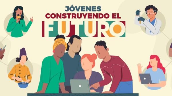 Foto para ilustrar cómo registrarse a jóvenes construyendo el futuro