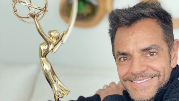 Eugenio Derbez y su premio Emmy