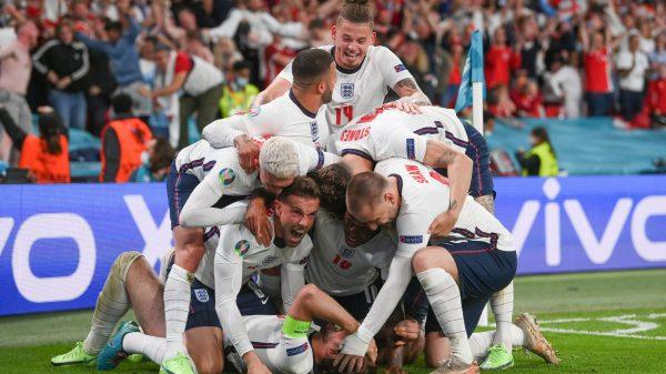 Inglaterra en la final de la Eurocopa 2020