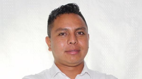 Regidor electo Iván Mejía