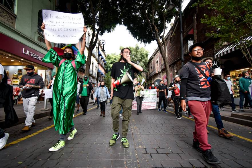 Marcha por la legalización de la marihuana