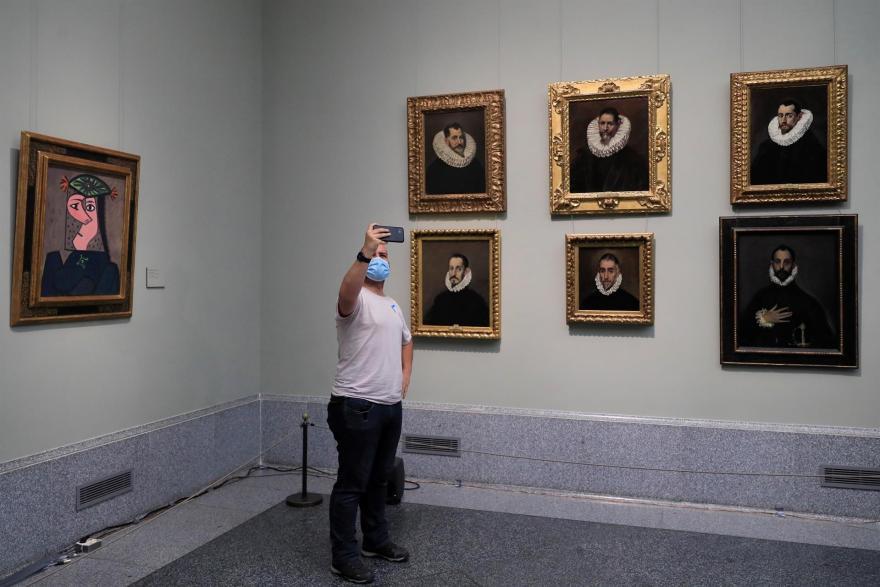 Picasso en el Prado