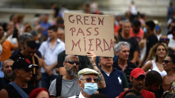 protestas contra restricciones