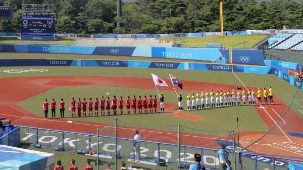 Japón debutó con triunfo en el sóftbol olímpico