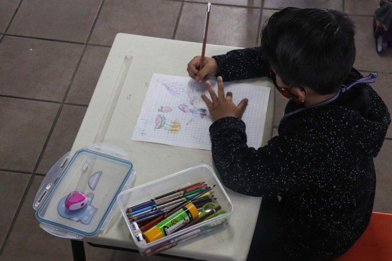 clases presenciales 2021 cdmx niño niña