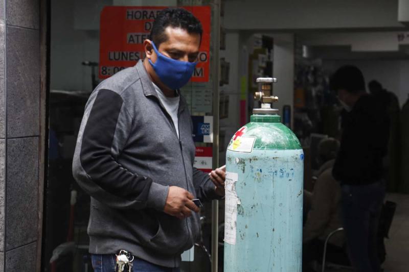tanques de oxígeno cdmx covid