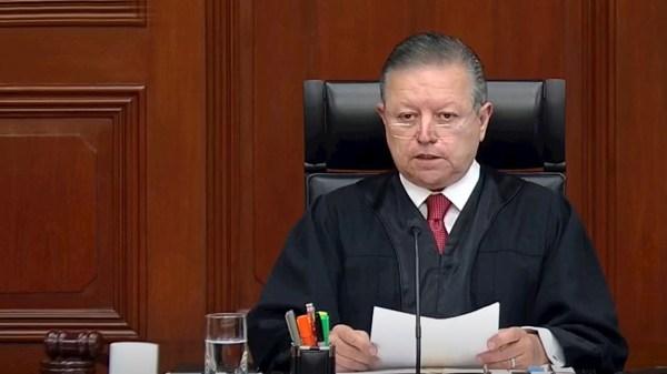 Foto del ministro Arturo Zaldívar