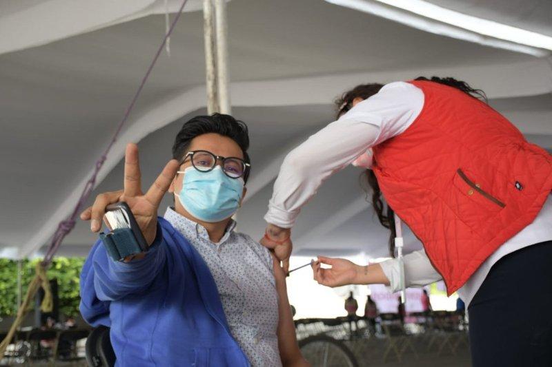 Vacunación en Neza
