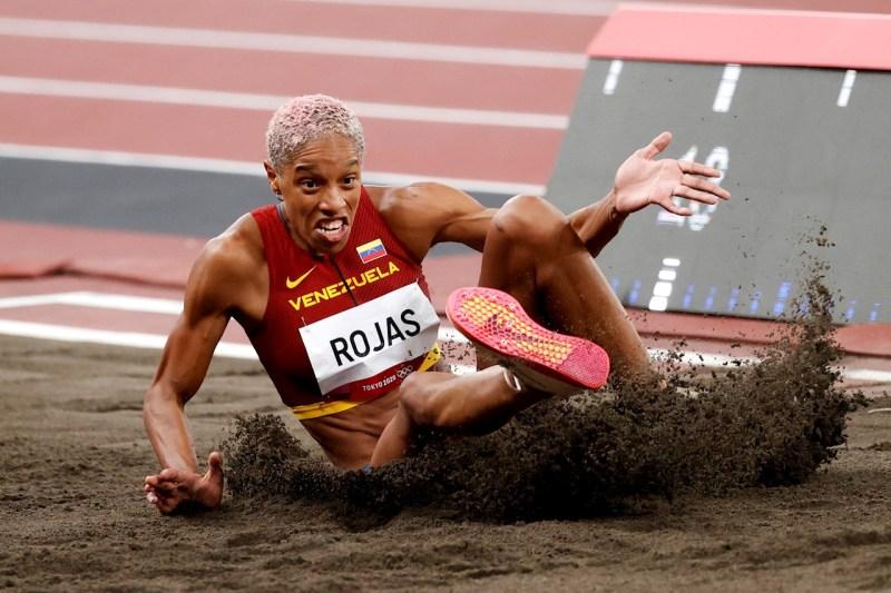 Foto Yulimar Rojas, atleta de oro
