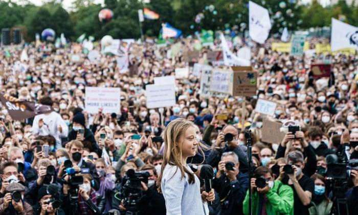 Huelga climática global: miles de personas se unen a la acción coordinada
