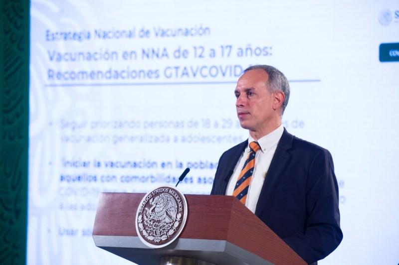 La vacunación a menores con comorbilidades iniciará a mediados de octubre