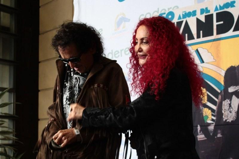 Chela y Alex Lora, El TRI, en los 50 años de Avándaro