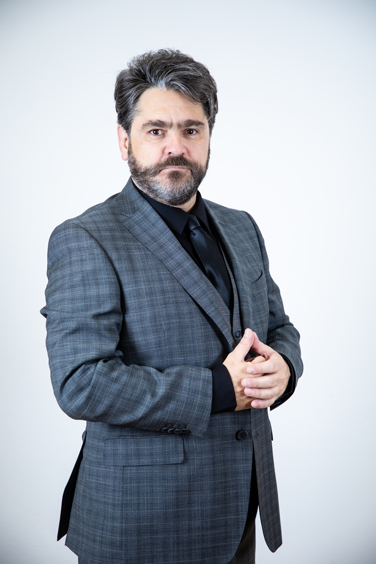 El actor Martín Altomaro